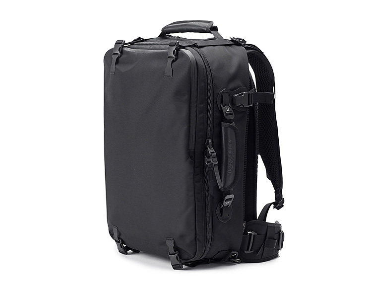 This Modular Travel Bag Is Designed For Custom Configuration at werd.com