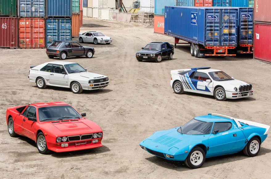 Super Rare Rally Cars Go Up For Auction at werd.com