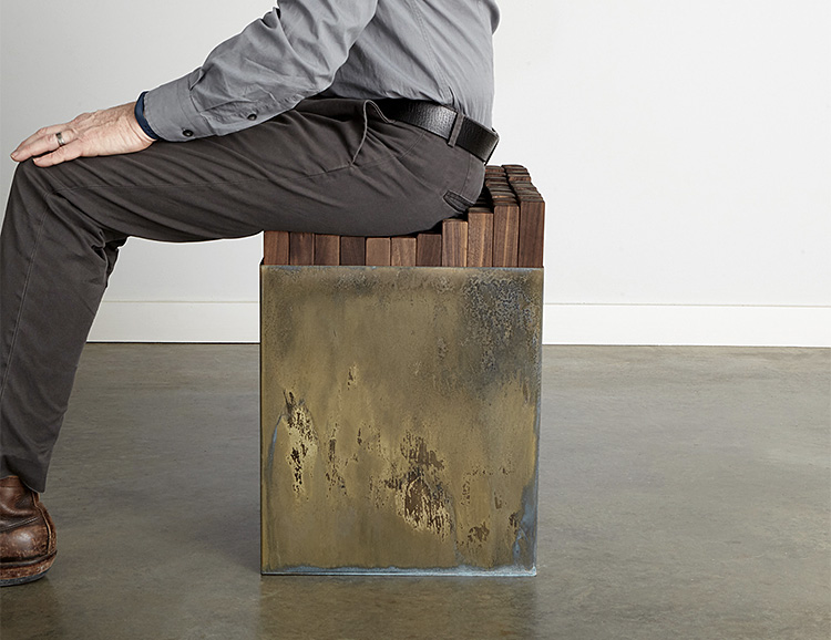 Not Your Standard Seat: The STIX Bench/Table at werd.com