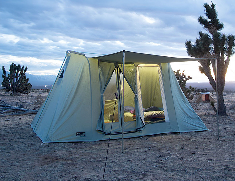 Springbar Canvas Tents are a Camping Classic at werd.com