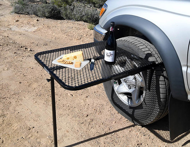 The Tailgater Tire Table is Built To Chill at werd.com