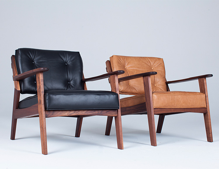 The Dreamer's Chair Blends Mid-Century & Modern Design at werd.com