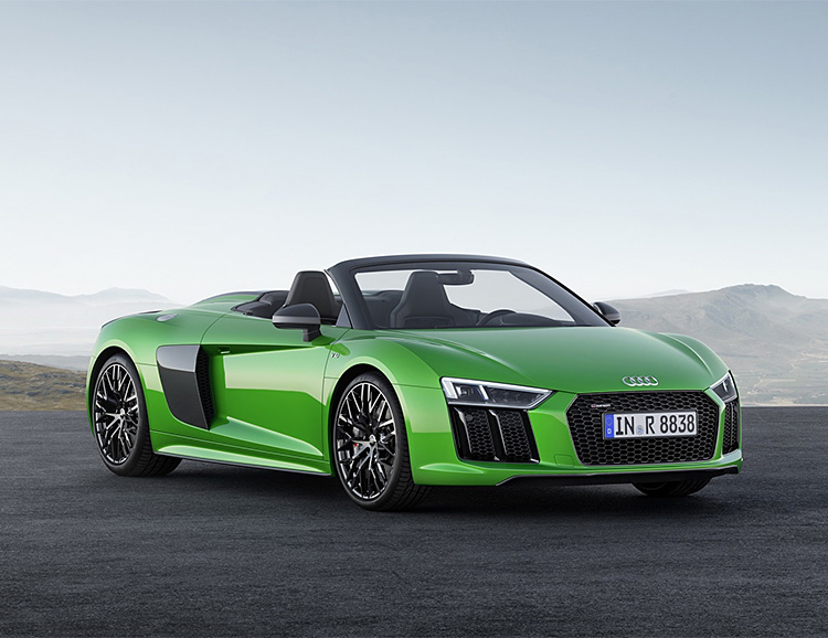 Audi Announces Their Most Powerful Convertible Ever at werd.com