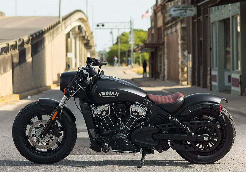 Indian Unveils Low & Lean Scout Bobber at werd.com
