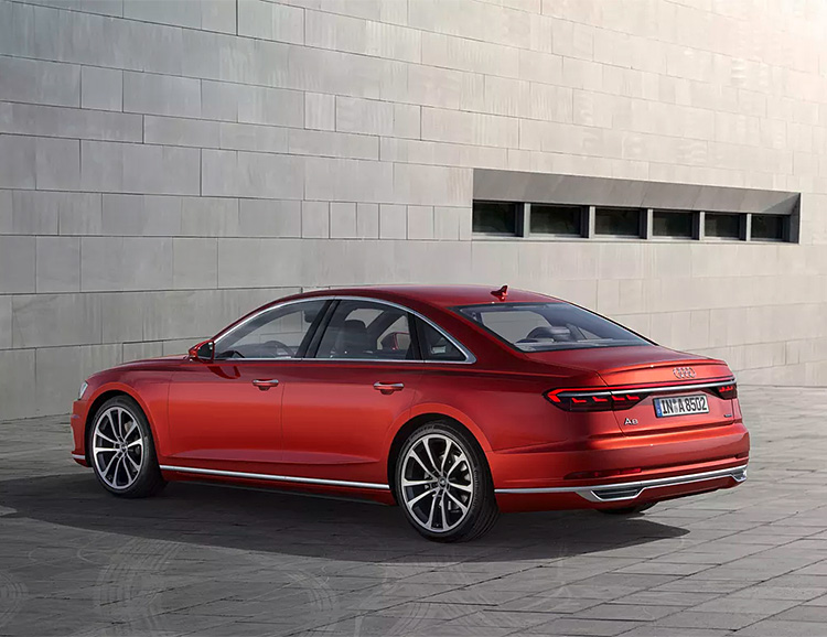 Audi Introduces Artificial Intelligence Tech in the 2018 A8 at werd.com