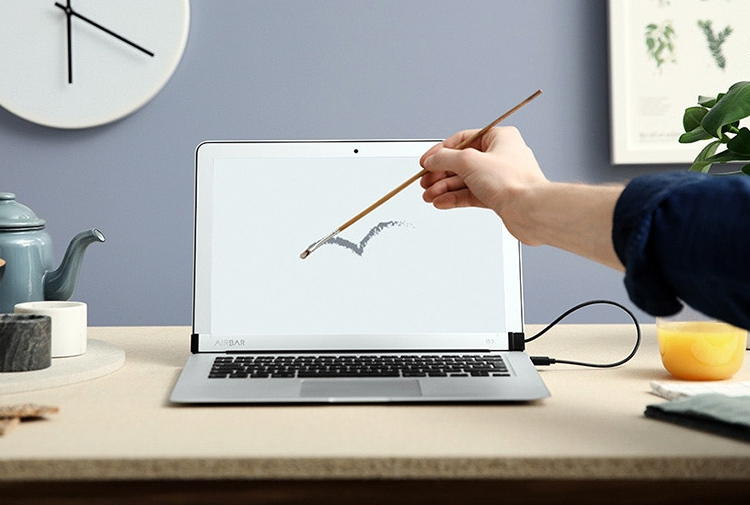 AirBar Turns Your MacBook Air into a Touchscreen at werd.com