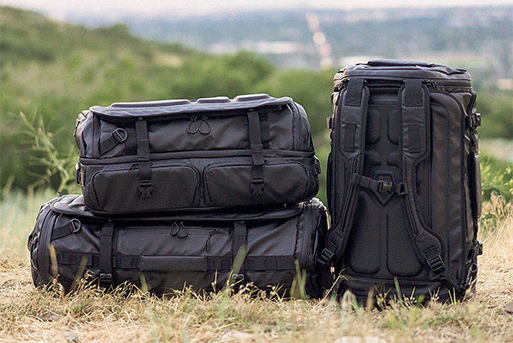 Pack Up & Get Gone: HEXAD Duffel Bags at werd.com