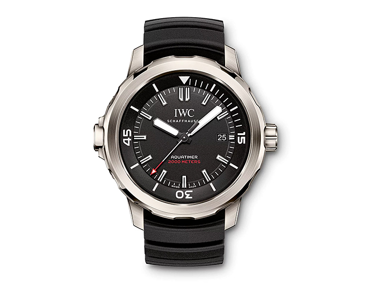 IWC Introduces its Thinnest Dive Watch Ever at werd.com