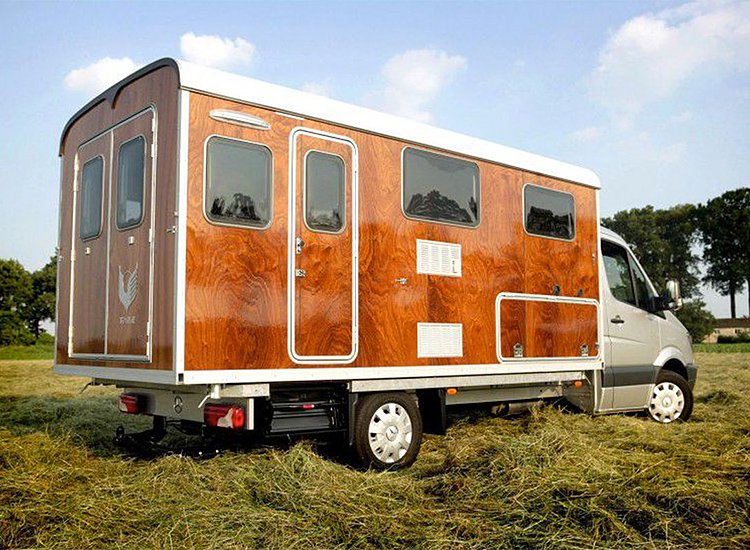Tonke's Fieldsleeper Camper is a Tiny Home On Wheels at werd.com