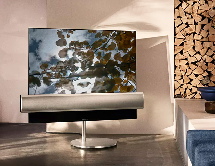 Bang & Olufsen Teams Up with LG on an OLED TV that Sounds as Good as it Looks at werd.com