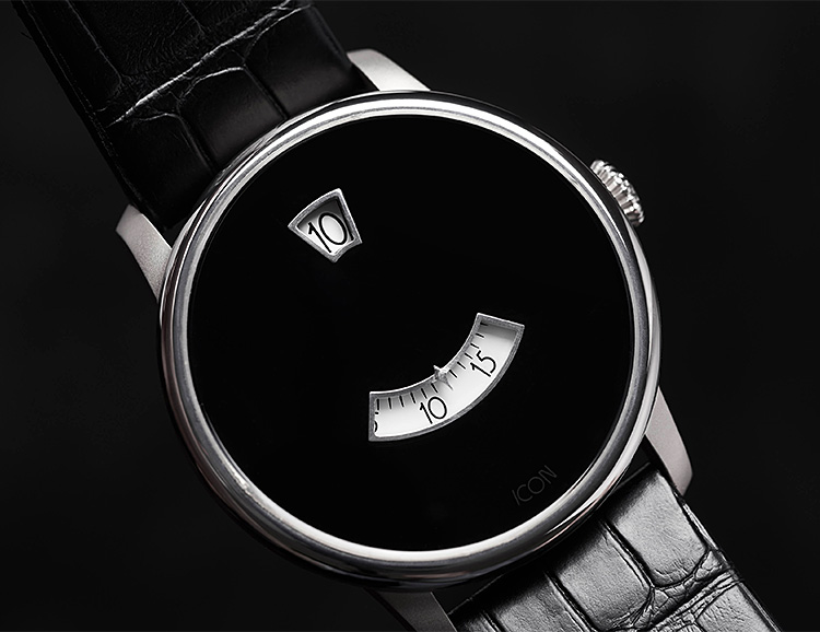 ICON Introduces a Vintage Inspired Titanium Watch at werd.com