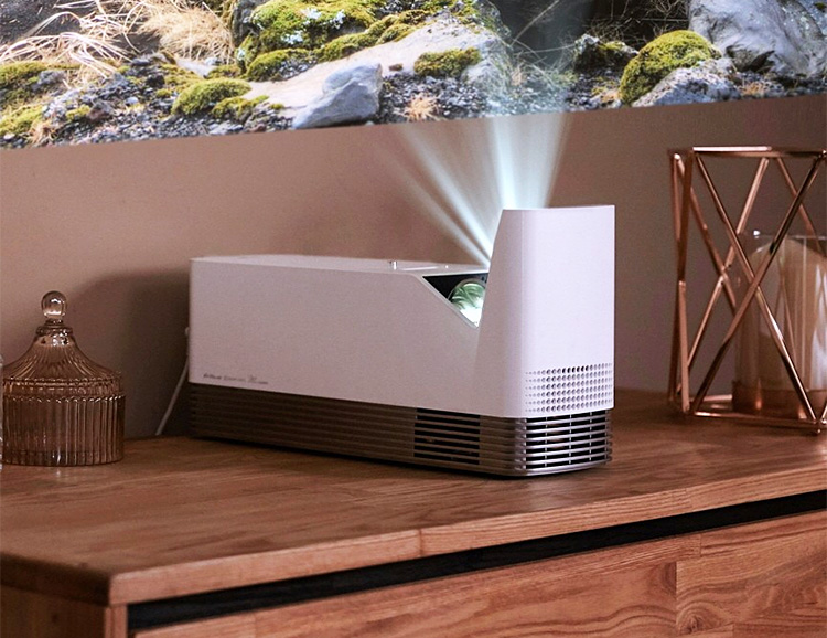 LG's New UST Projectors Bring the Big Screen to Smaller Spaces at werd.com
