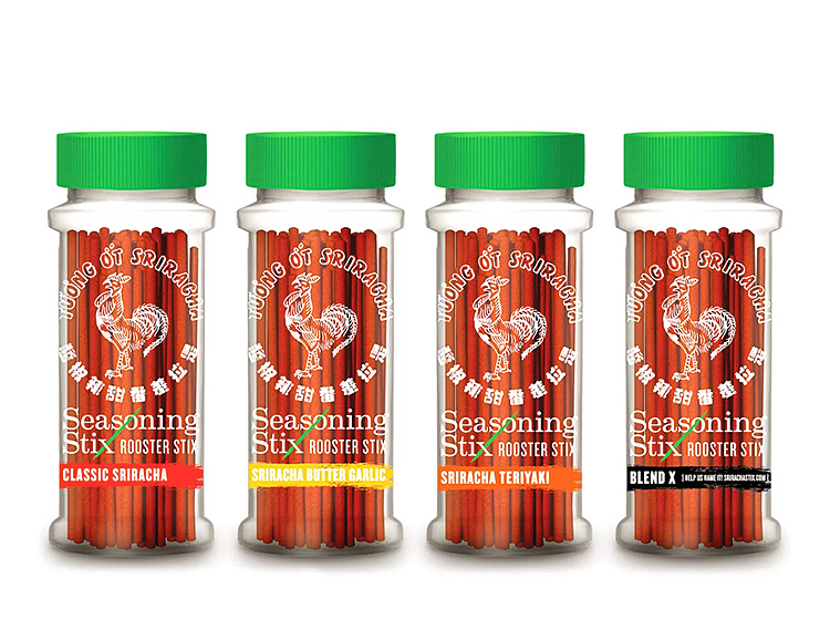 Sriracha Turns Up The Heat With Seasoning Stix at werd.com