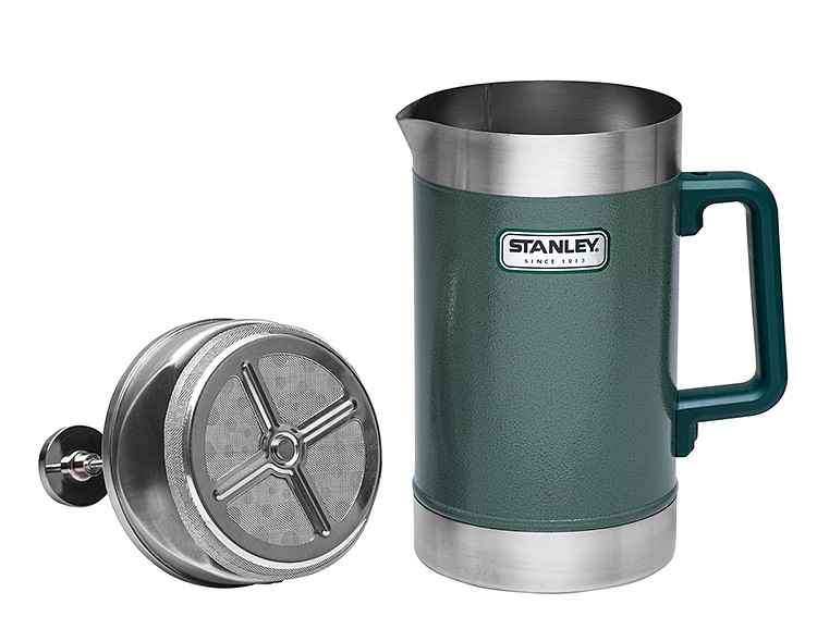 Stanley's 48-Ounce Vacuum French Press is a Camp Classic