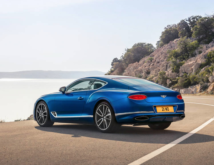 Bentley Updated Their Continental GT Coupe with a Complete Makeover at werd.com