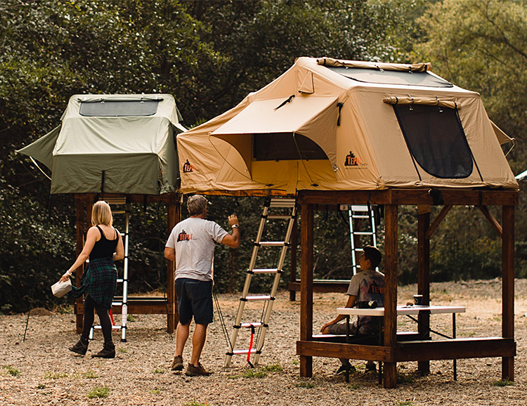 Tepui SkyCamp Puts a Rooftop Tent on the Ground at werd.com