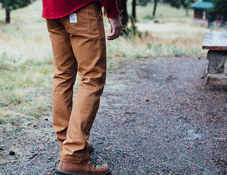 Topo Designs Introduces Tough, Proper Fitting Work Pants at werd.com