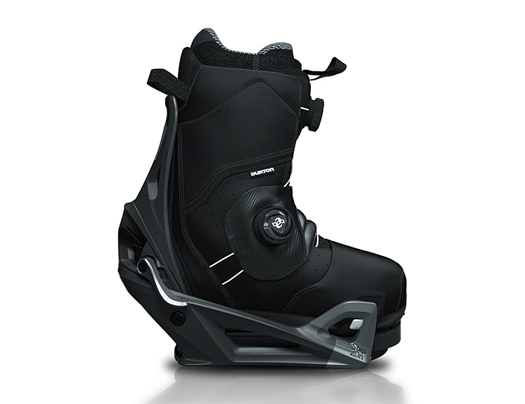 Burton Step On, the Fastest, Most Convenient Snowboard Binding Available in November at werd.com