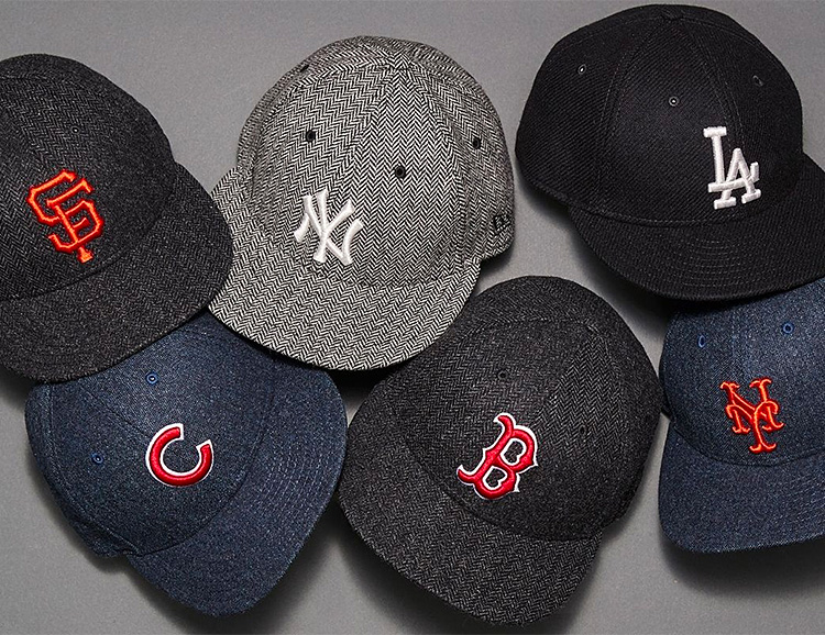 Todd Snyder & New Era Bring Classic Style To Hats From Your Favorite Baseball Teams at werd.com