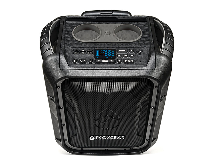 This 100-Watt All-Weather Speaker is a Party On Wheels at werd.com