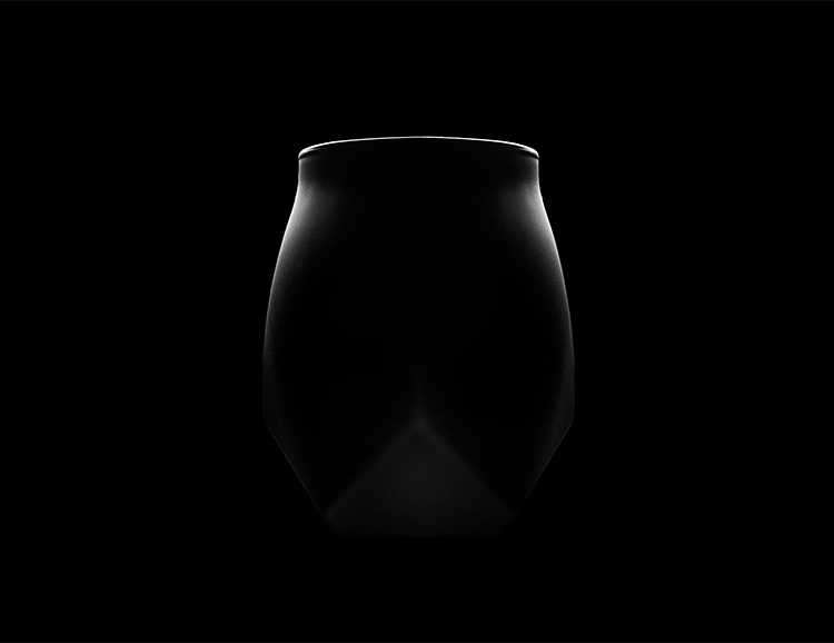 This Blacked Out Norlan Glass is the Tumbler Your Whisky Deserves at werd.com