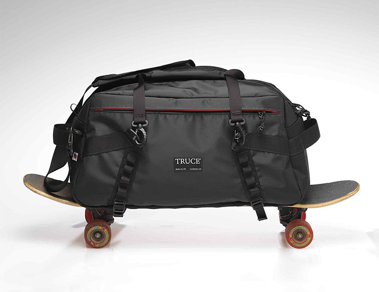 This Duffle from Truce Designs is Ready To Roll at werd.com