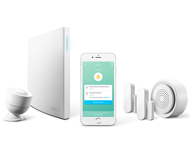 Wink Lookout is a Simpler Smart Home Security System at werd.com