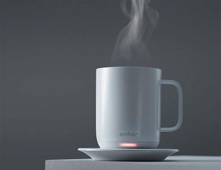 Hot Coffee 24/7: The Ember Ceramic Mug