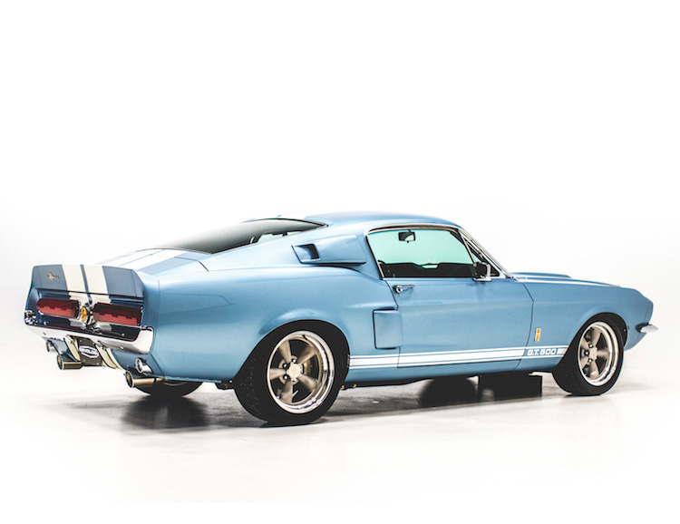 Classic Style Meets Modern Tech in this 1967 Shelby GT500 Reproduction at werd.com