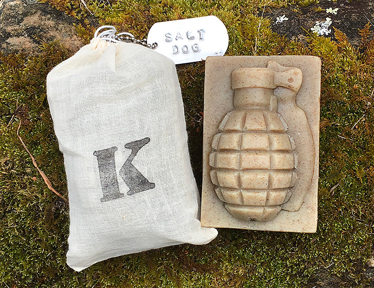 Grab a Grenade and Exfoliate Your Face at werd.com