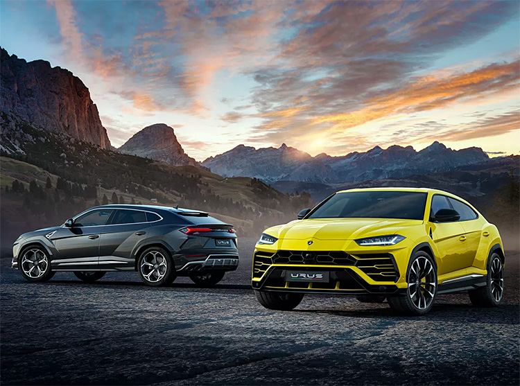 The 2019 Lamborghini Urus is the World's Fastest SUV at werd.com