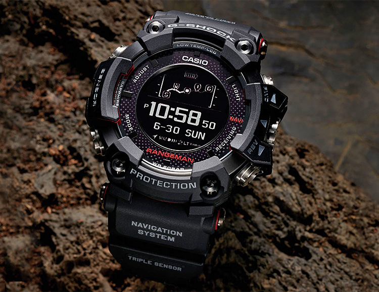 Casio's GPR B-1000 is a Solar-Powered GPS Watch at werd.com
