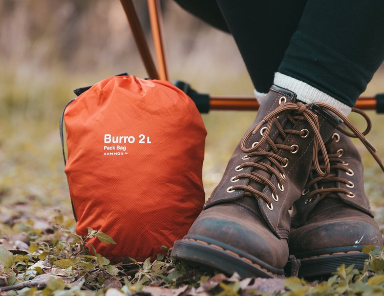 Organize Your Luggage or Backpack with Packable Burro Bags at werd.com