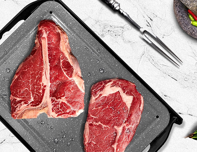This Yeti Will Defrost Your Meat Twice As Fast at werd.com