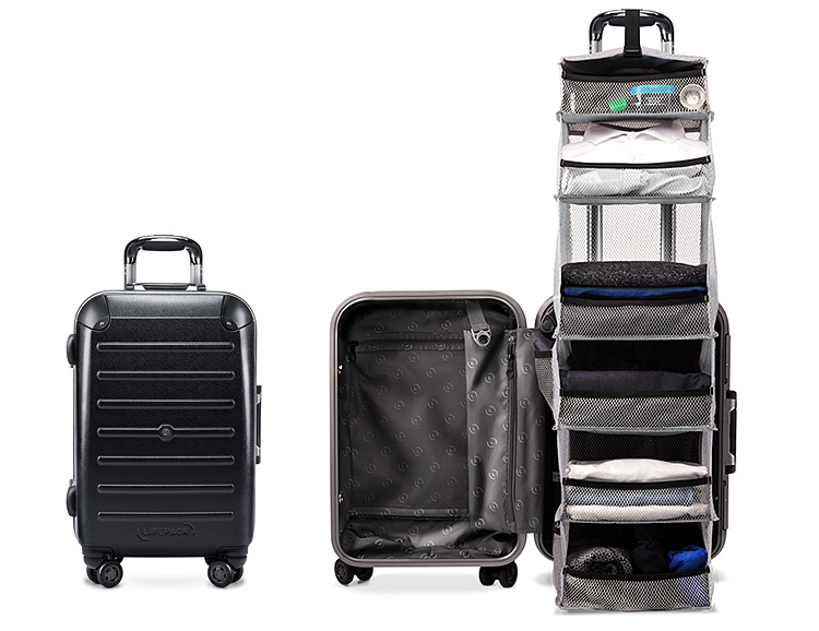 Tuned For Travel: The Carry-On Closet at werd.com