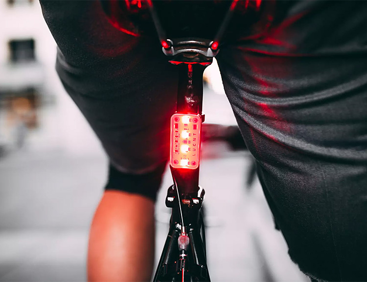 This Rechargeable Bike Light is Smarter Than Most at werd.com