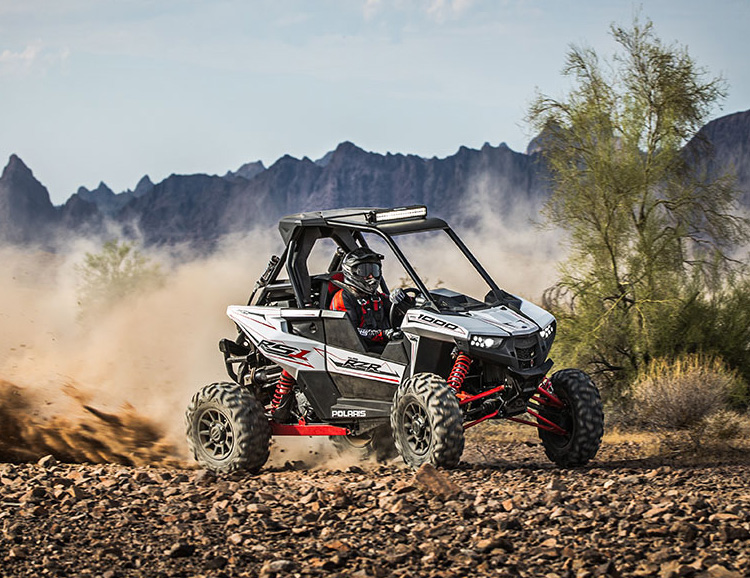 Polaris Debuts New RZR RS1, a RallyCross Racer for the Public at werd.com