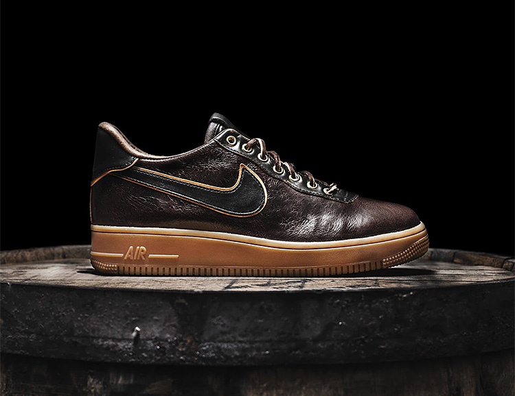 The Shoe Surgeon Teams Up With Jack Daniel's for a Whiskey-Inspired Nike Classic at werd.com