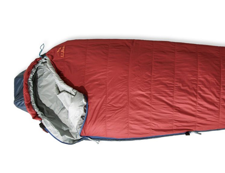 L.L. Bean Introduces a Sleeping Bag with Aerogel Insulation at werd.com