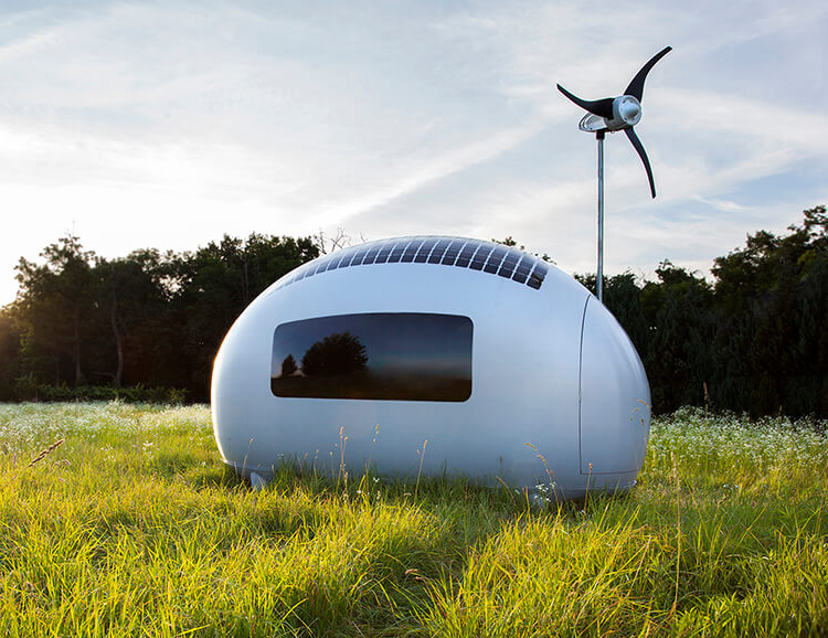 Ecocapsule is a High-Tech Tiny Home for Off-Grid Living at werd.com