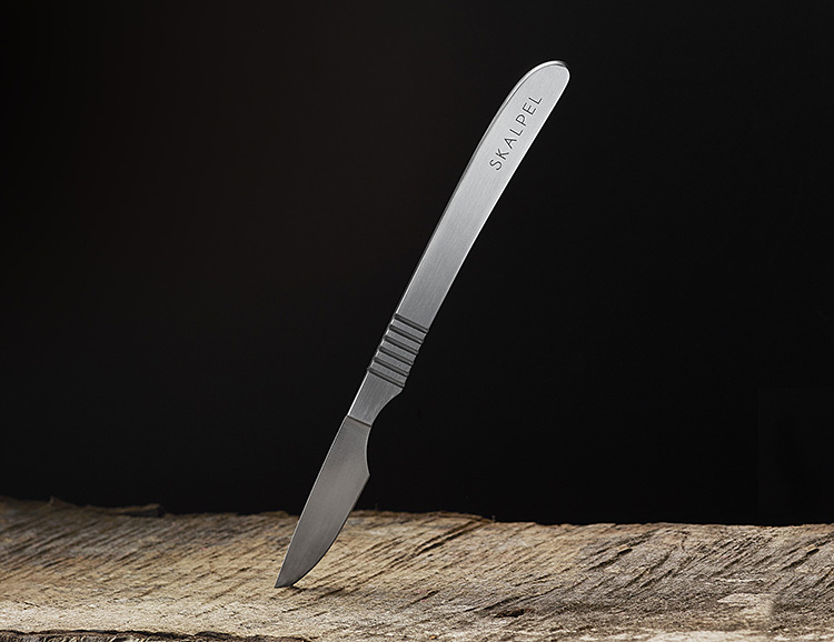 Perform Surgery On Your Steak with the Skalpel Knife at werd.com