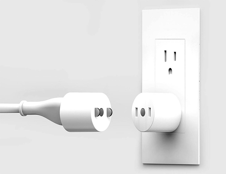 TUG Provides a MagSafe Connection for Standard Outlets at werd.com