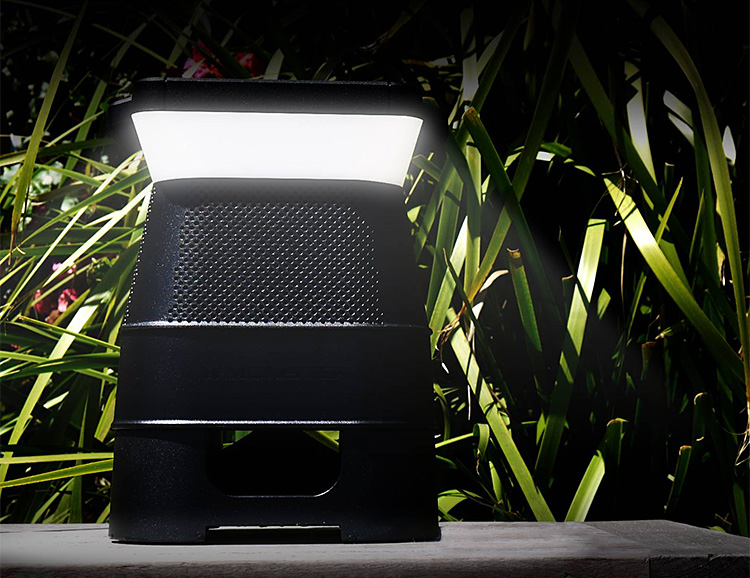 This Speaker & Light Combo is Powered By The Sun at werd.com