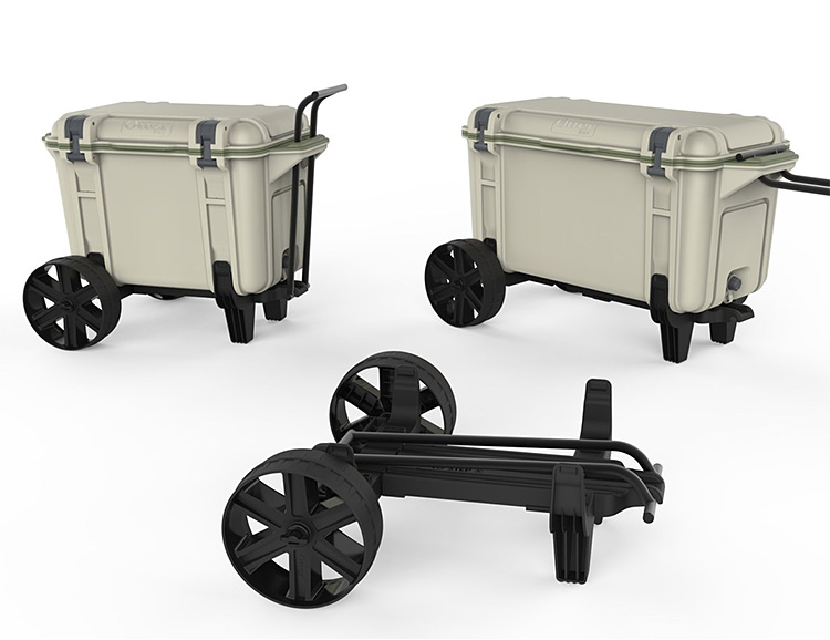 OtterBox Puts Your Venture Cooler On Wheels at werd.com