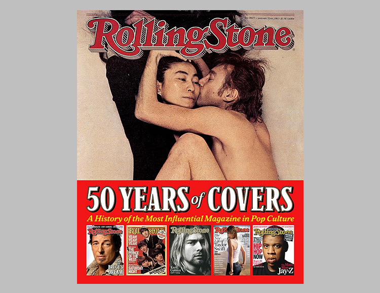 Rolling Stone 50 Years of Covers: A History of the Most Influential Magazine in Pop Culture at werd.com