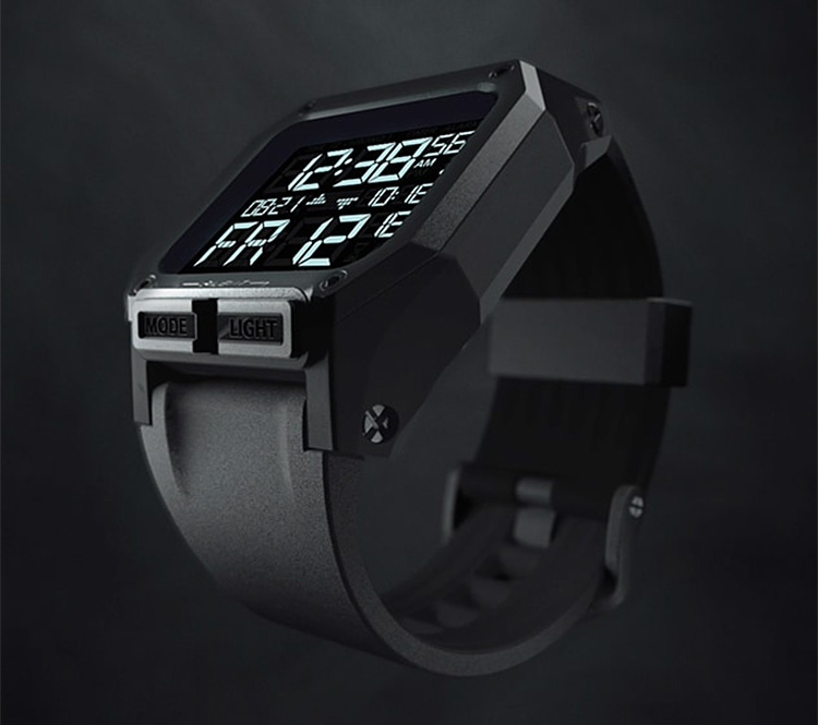 Nixon Builds a Battle-Worthy Watch at werd.com