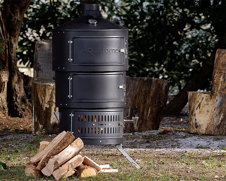 The Aquaforno II is the Most Versatile Outdoor Stove We've Ever Seen at werd.com