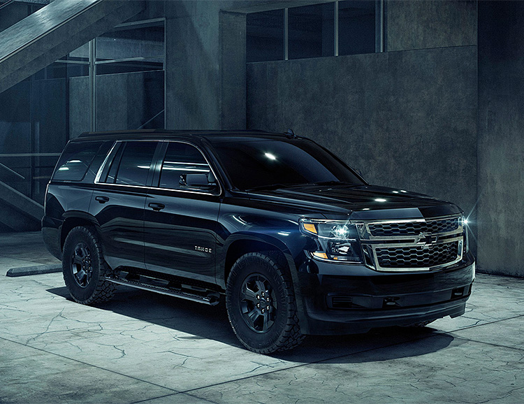 Chevy Rolls Out Tahoe Custom Midnight Edition at werd.com