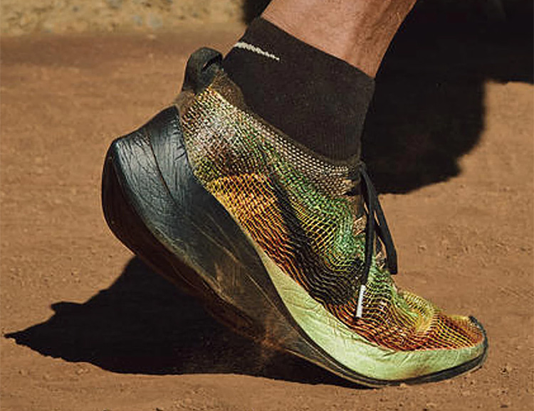 Nike's Newest: The Zoom VaporFly Elite Flyprint at werd.com
