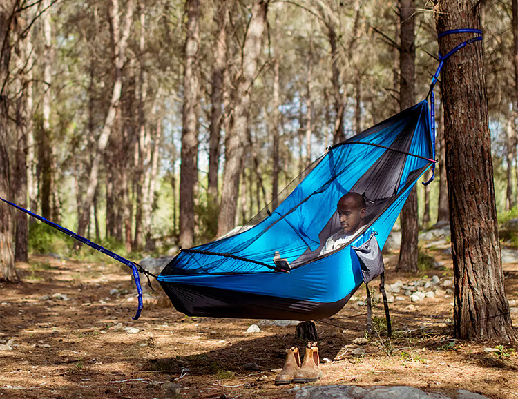 The Koala is a Hammock & Camp Chair In One at werd.com